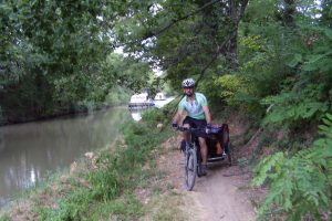Canal de midi en bici